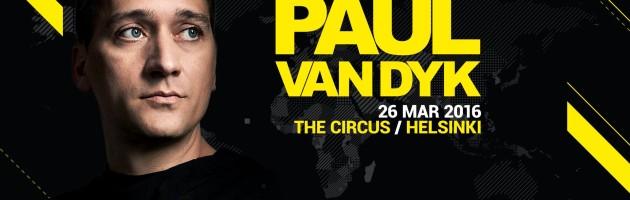 26.03.2016 Paul van Dyk, Helsinki (FIN)