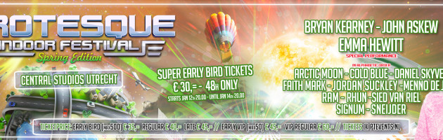 Super Earlybird: GIF2016 Spring Edition & Psychique – The Weekender