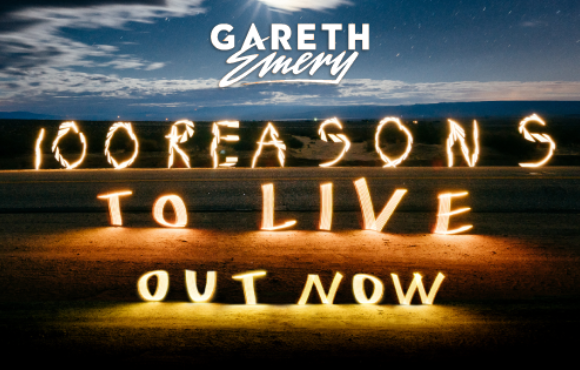 "Gareth Emery pres. ""100 Reasons To Live"" as third artist album"