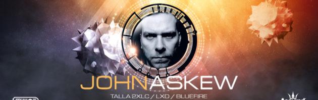 12.11.2016 Technoclub pres. John Askew, Offenbach am Main (DE)