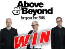Above & Beyond – European Tour 2016 #WIN TICKETS