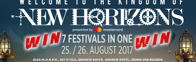 25.-26.08.2017 New Horizons, Nürburgring (DE) #WIN TICKETS