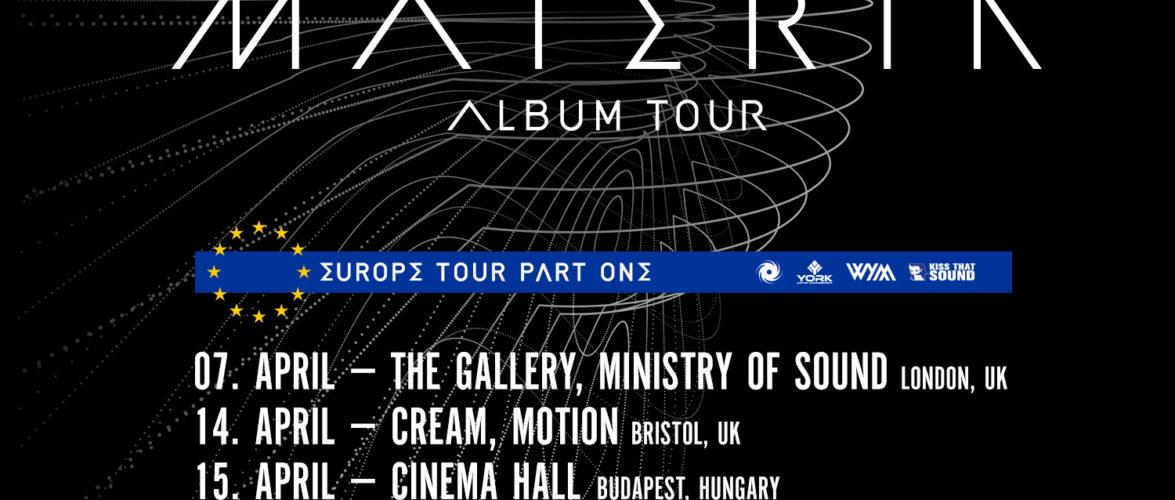 Cosmic Gate's European Materia Tour – Phase 1 Dates Announced