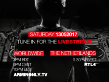 "Armin van Buuren's live stream of his sold out ""The Best Of Armin Only"" Arena show"