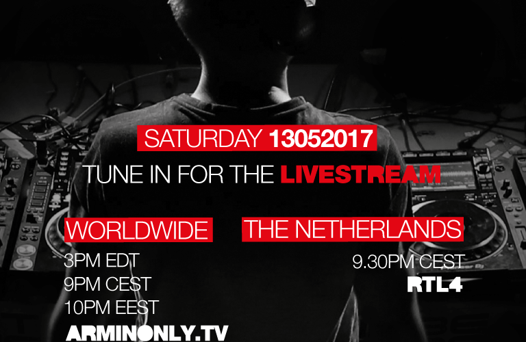 """Armin van Buuren's live stream of his sold out """"The Best Of Armin Only"""" Arena show"""