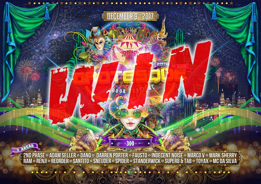 Grotesque Rotterdam 300 win tickets competition