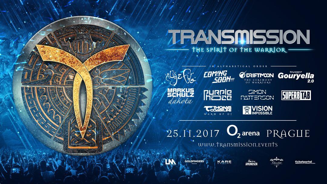 25.11.2017 Transmission, Prague (CZ)