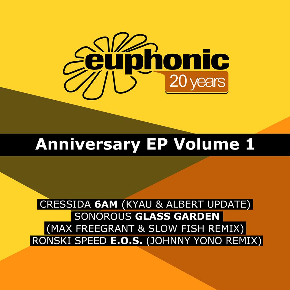 Euphonic 20 Years Anniversary EP Volume 1