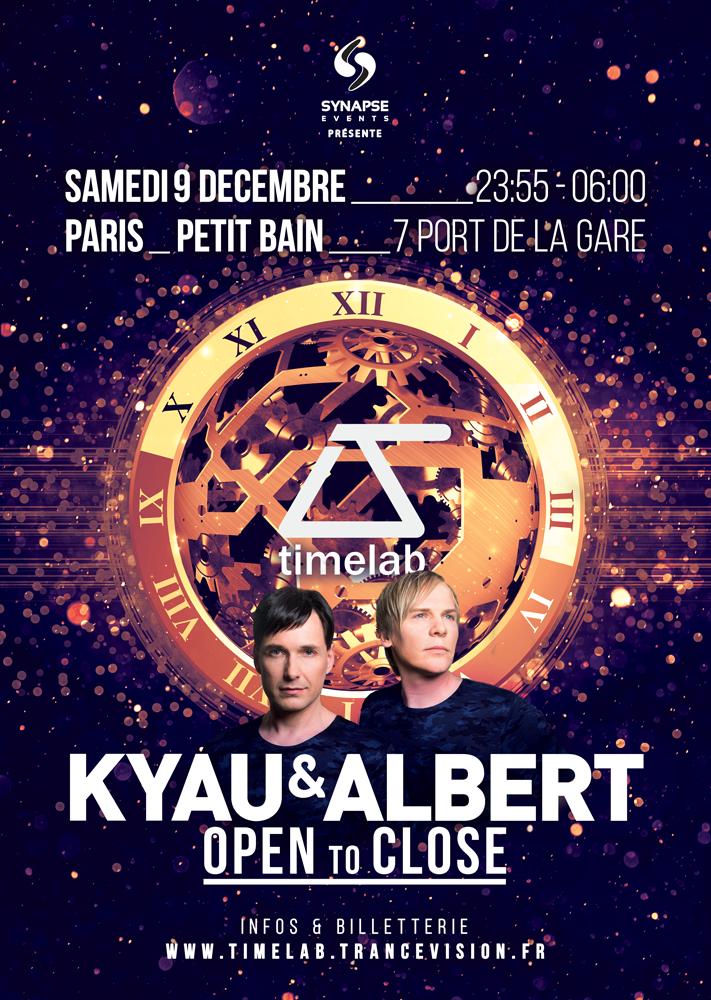 09.12.2017 Kyau & Albert OTC, Paris (FR)