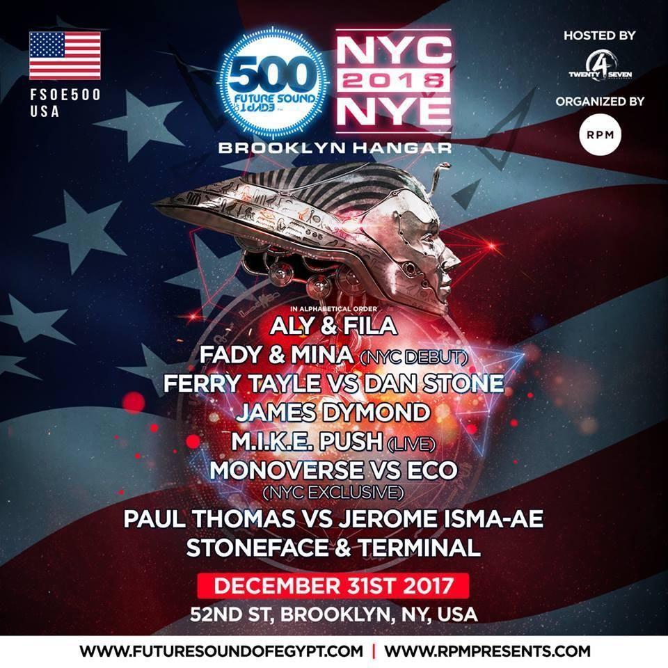 31.12.2017 FSOE 500 NYE, Brooklyn NYC (US)