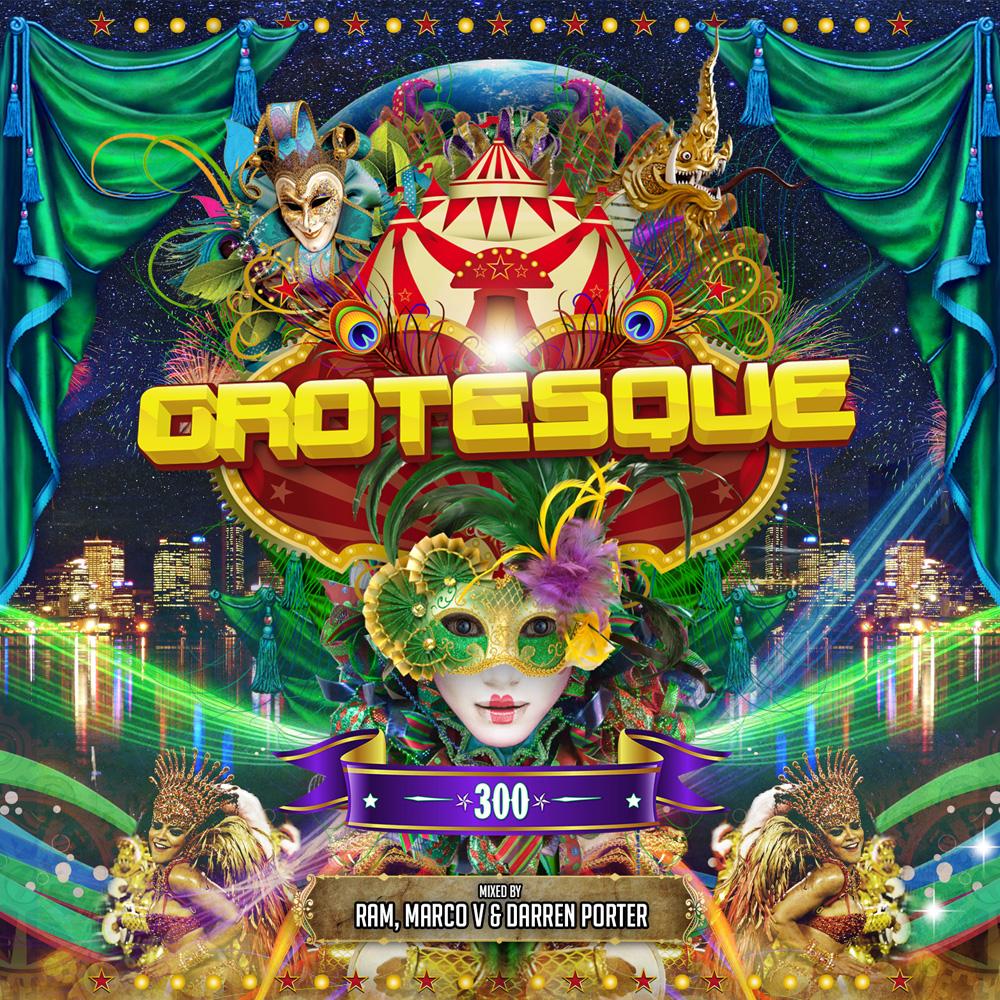 Grotesque 300 mixed by RAM, Marco V & Darren Porter