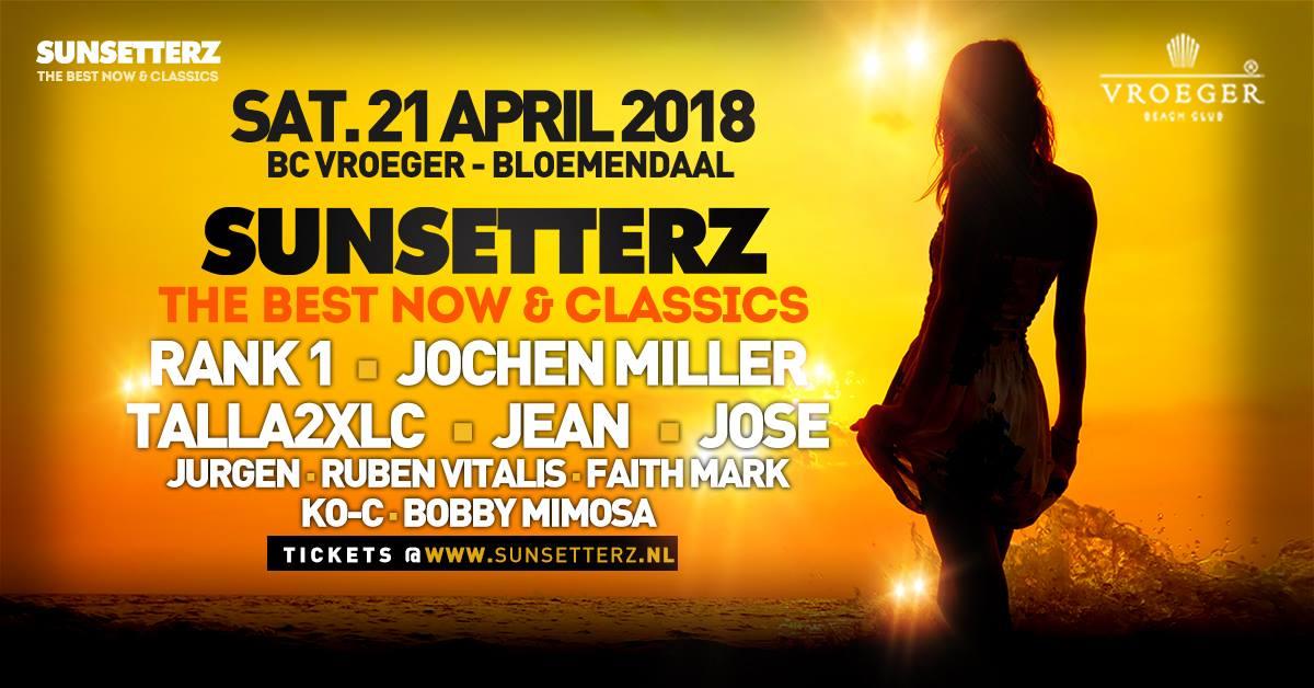21.04.2018 Sunsetterz, Beachclub Vroeger (NL)