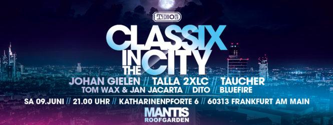 09.06.2018 Classix in the City, Frankfurt a.M. (DE)