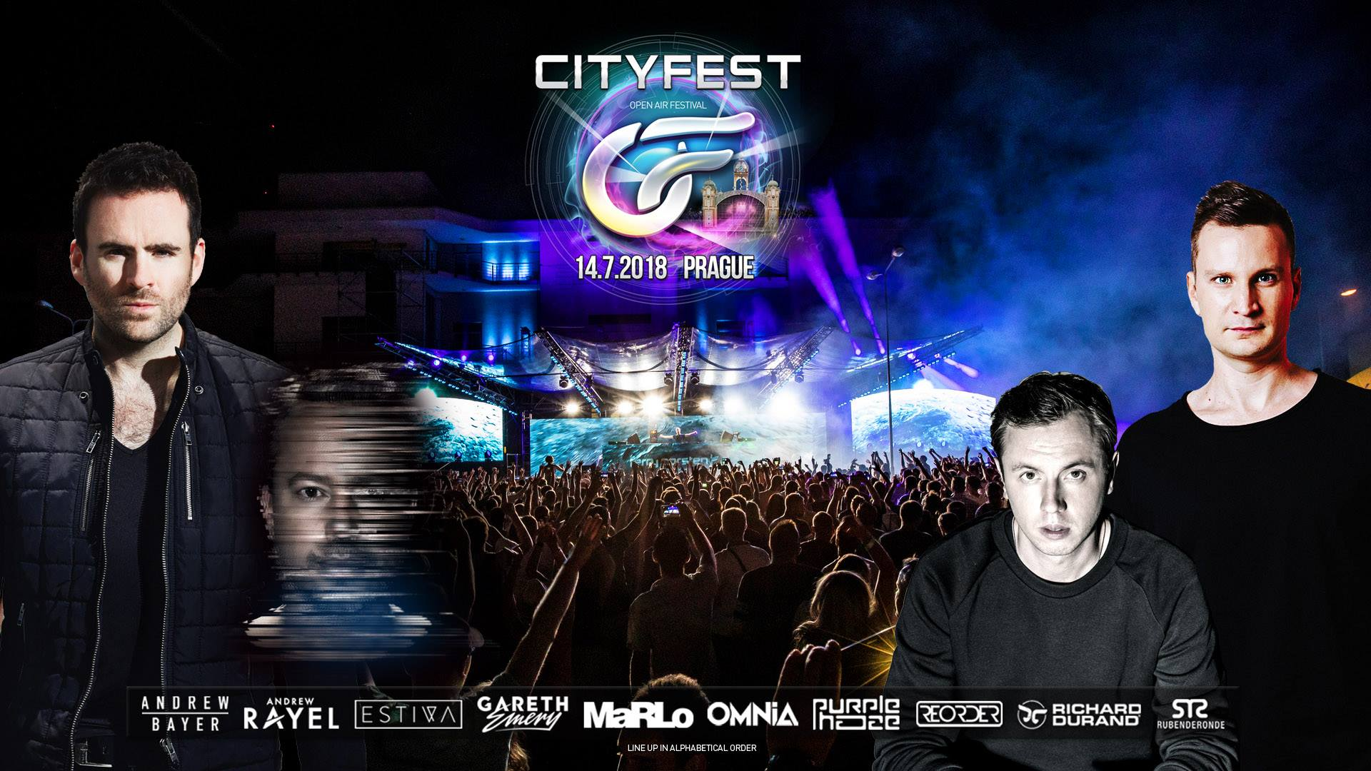 14.07.2018 CityFest 2018, Prague (CZ)