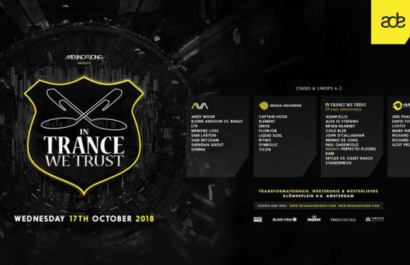 17.10.2018 In Trance We Trust ADE Festival 2018, Amsterdam (NL)