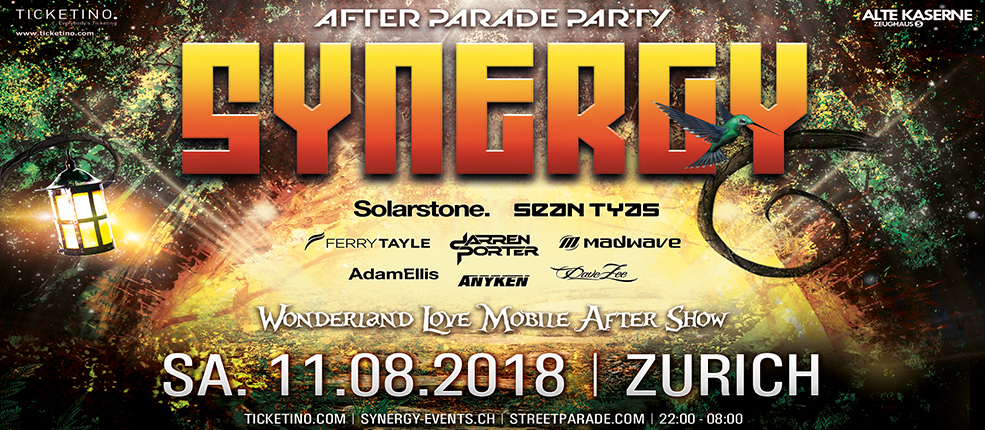11.08.2018 Synergy Afterparty, Zurich wide