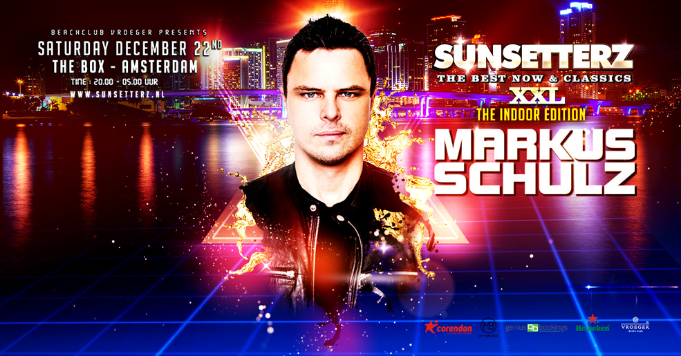 22.12.2018 Sunsetterz XXL – The Indoor Edition, Amsterdam (NL)