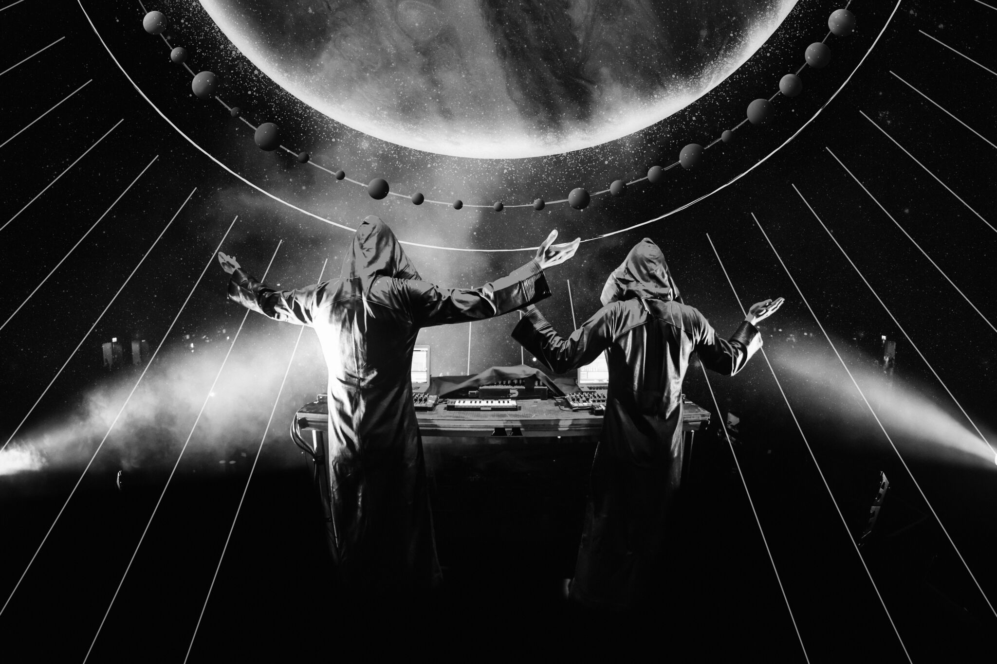 Armin van Buuren as GAIA taking over Amsterdam Dance Event 2018