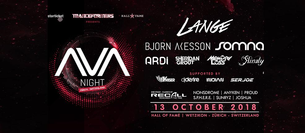 13.10.2018 Tranceformers pres. AVA Recordings Night, Wetzikon
