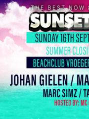 16.09.2018 Sunsetterz Closing Summer Season 2018, Bloemendaal (NL)