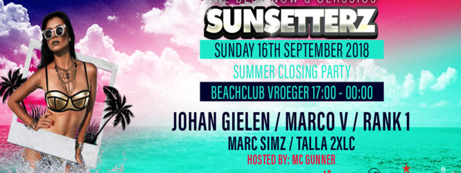 16.09.2018 Sunsetterz Closing Summer Season 2018, Bloemendaal (NL)