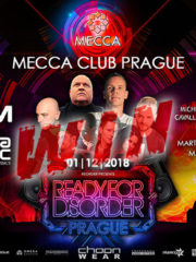 01.12.2018 ReOrder pres. ReadyForDisorder, Prague (CZ) #WIN TICKETS