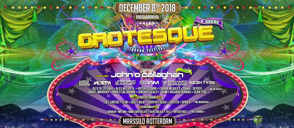 08.12.2018 Grotesque Indoor Festival #350, Rotterdam