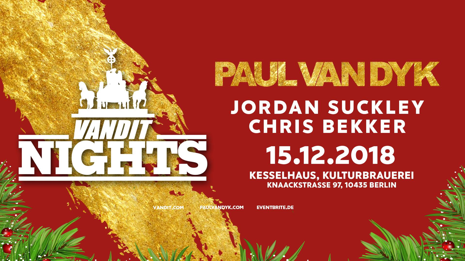 15.12.2018 Winter Vandit Night, Berlin (DE)