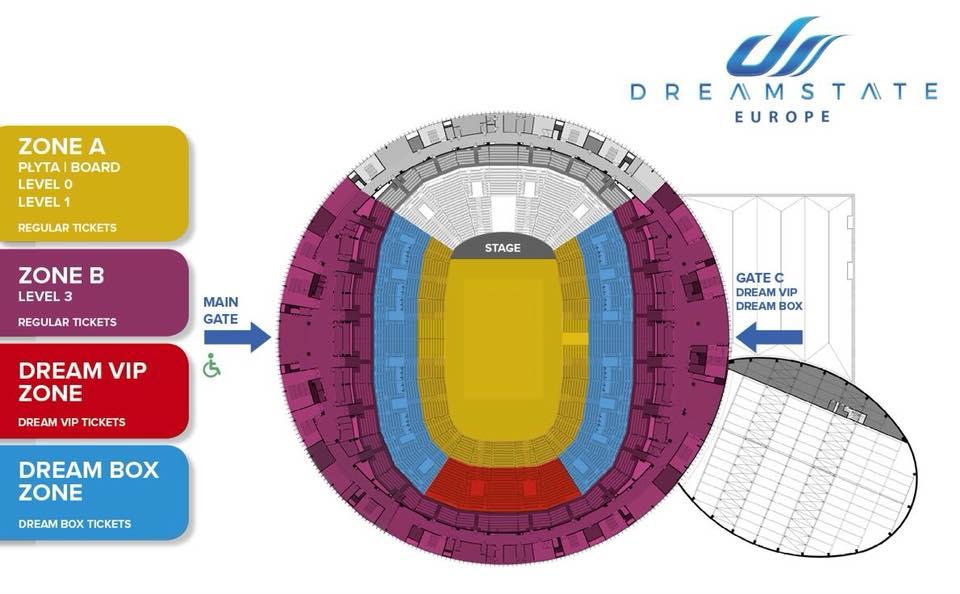 Dreamstate Poland 2019 Arena