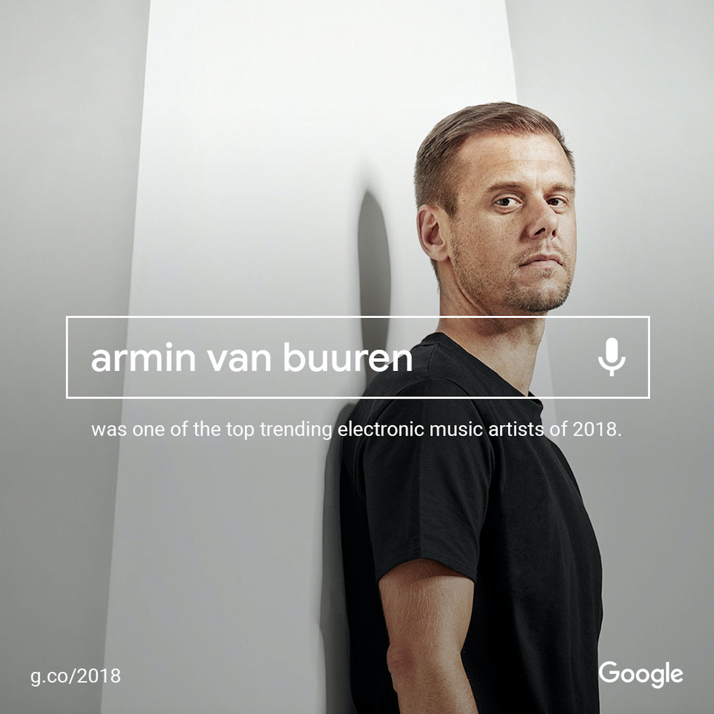 Armin van Buuren Google 2018