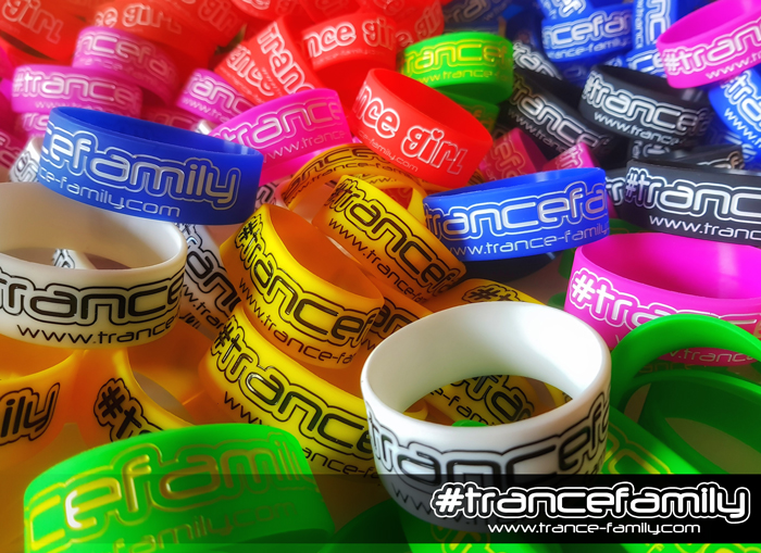 trancefamily wristbands