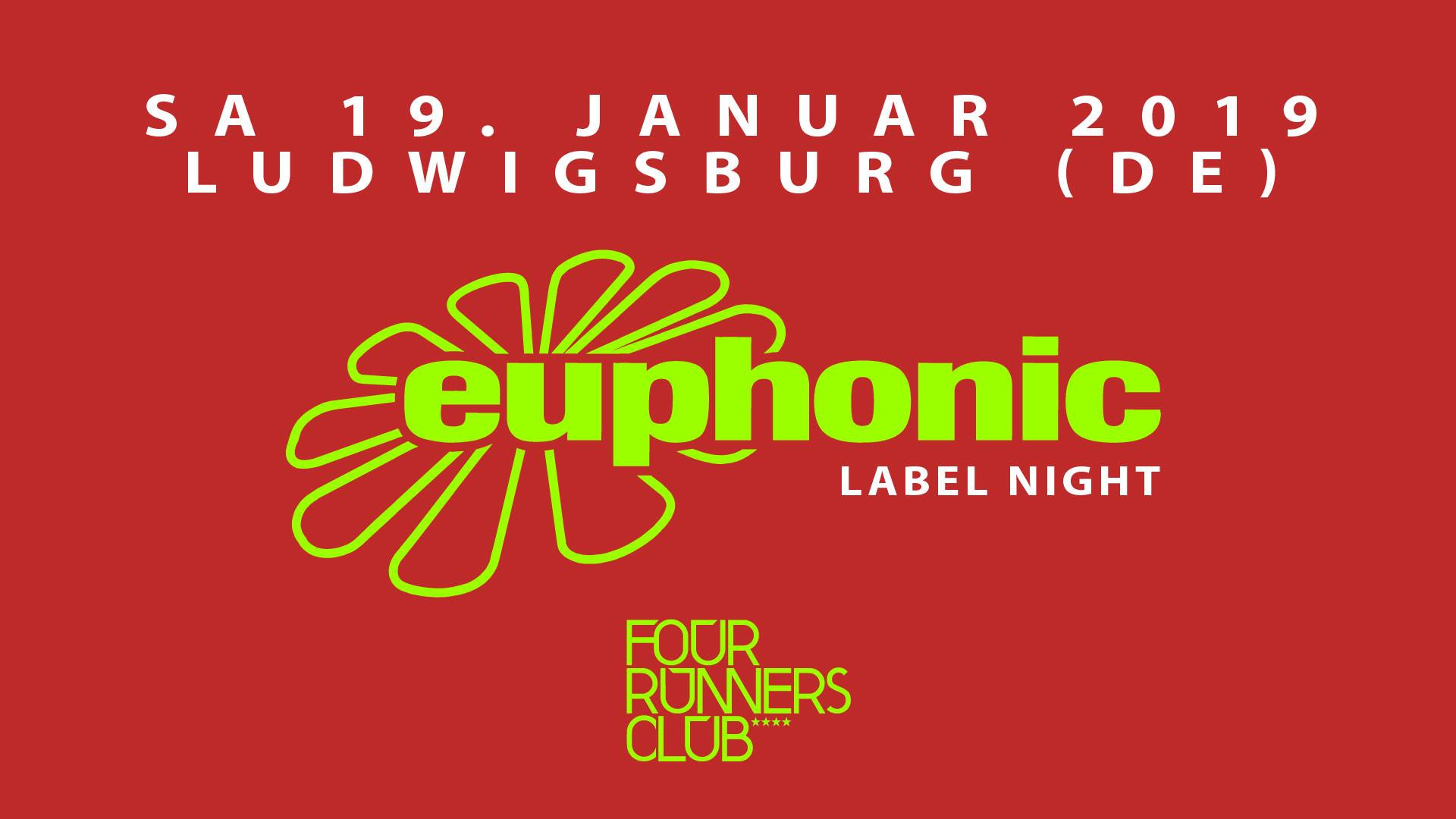 19.01.2019 Euphonic Label Night, Ludwigsburg (DE)