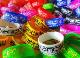 TranceFamily wristbands