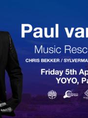 05.04.2019 Paul van Dyk pres. Music Rescues Me, Paris (FR)