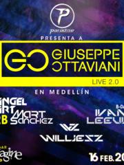 16.02.2019 Giuseppe Ottaviani Live 2.0, Medellin (CO)