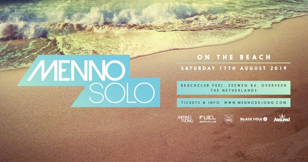 17.08.2019 Menno Solo - On The Beach, Bloemendaal