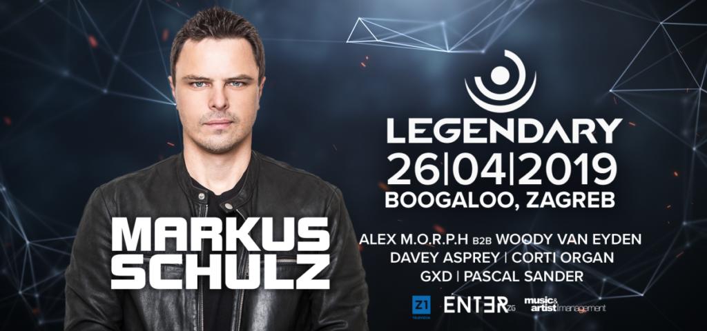26.04.2019 Legendary Festival pres. Markus Schulz, Zagreb