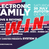 [WIN TICKETS] 20.07.2019 Electronic Family, Den Bosch (NL)