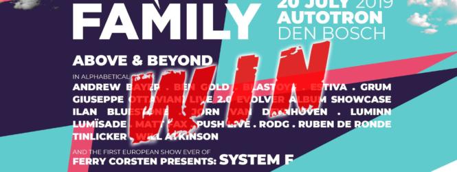 [WIN TICKETS] 20.07.2019 Electronic Family, Den Bosch (NL)
