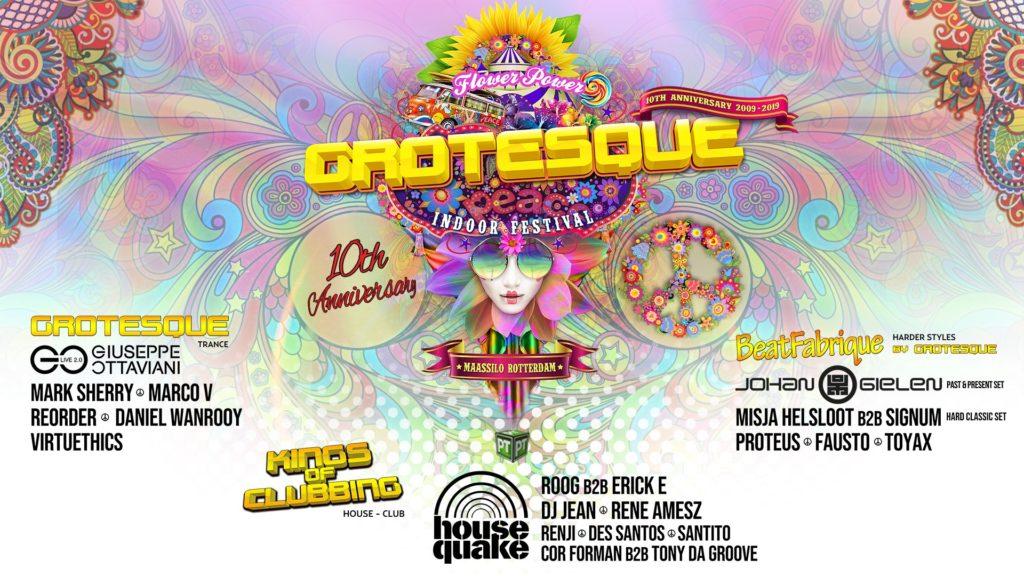 14.12.2019 Grotesque Indoor Festival - 10th Anniversary, Rotterdam (NL)