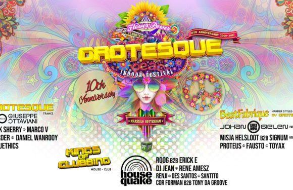 14.12.2019 Grotesque Indoor Festival – 10th Anniversary, Rotterdam (NL)