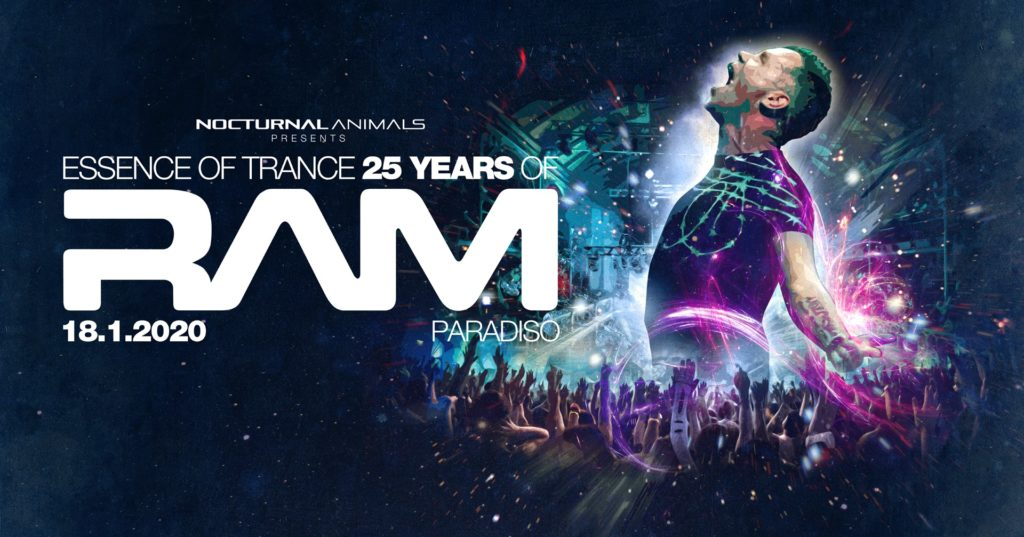 "Nocturnal Animals pres. ""Essence of Trance"" 25 years of RAM!"