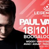 18.10.2019 Legendary pres. Paul van Dyk, Zagreb (HR)