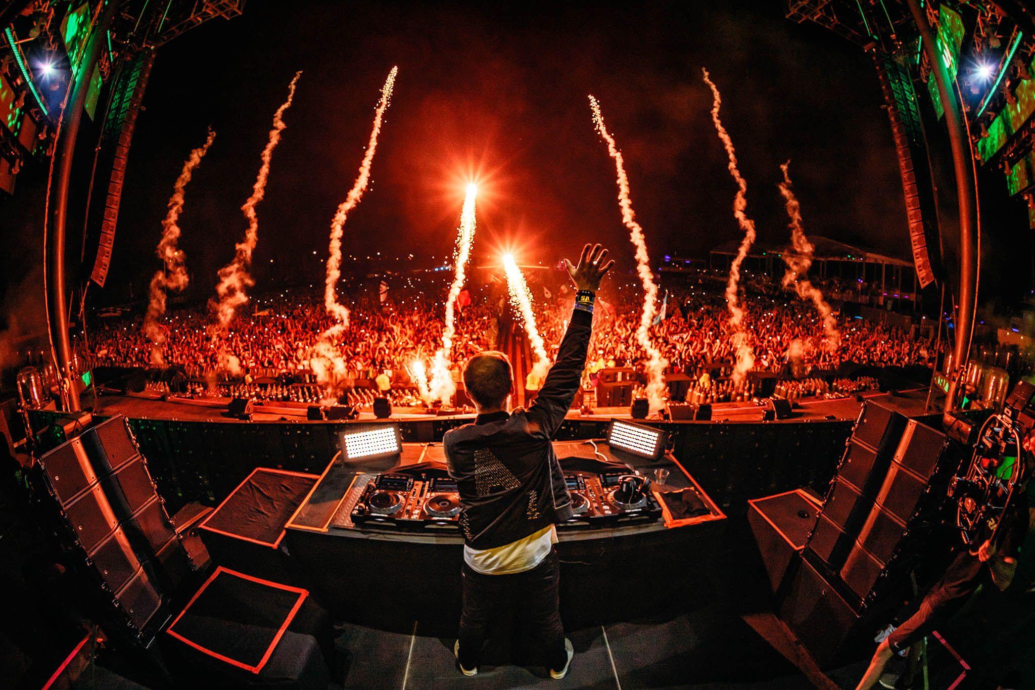 Armin van Buuren Fireworks