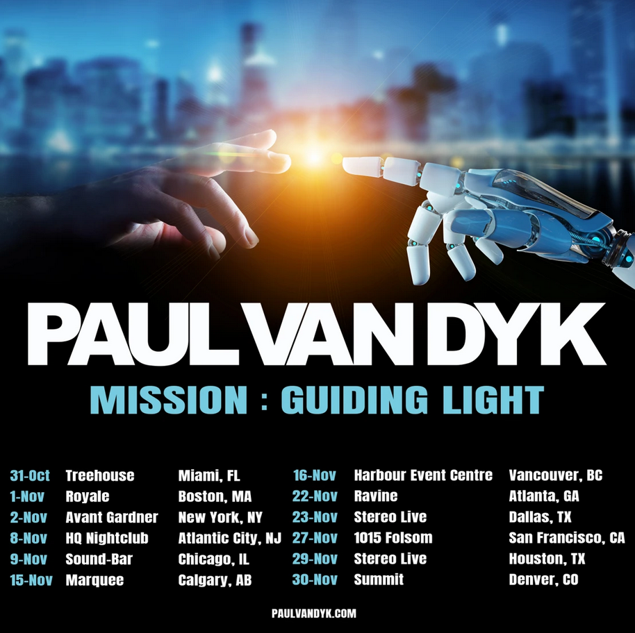 Paul van Dyk - The MISSION: Guiding Light