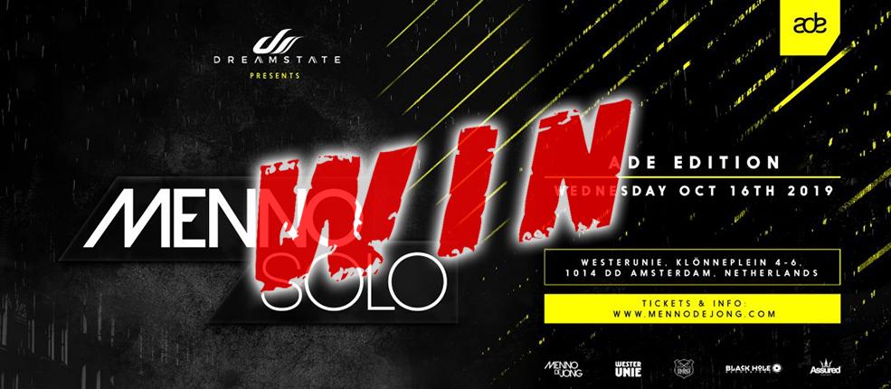 16.10.2019 Dreamstate pres. Menno Solo - ADE Edition, Amsterdam Tickets