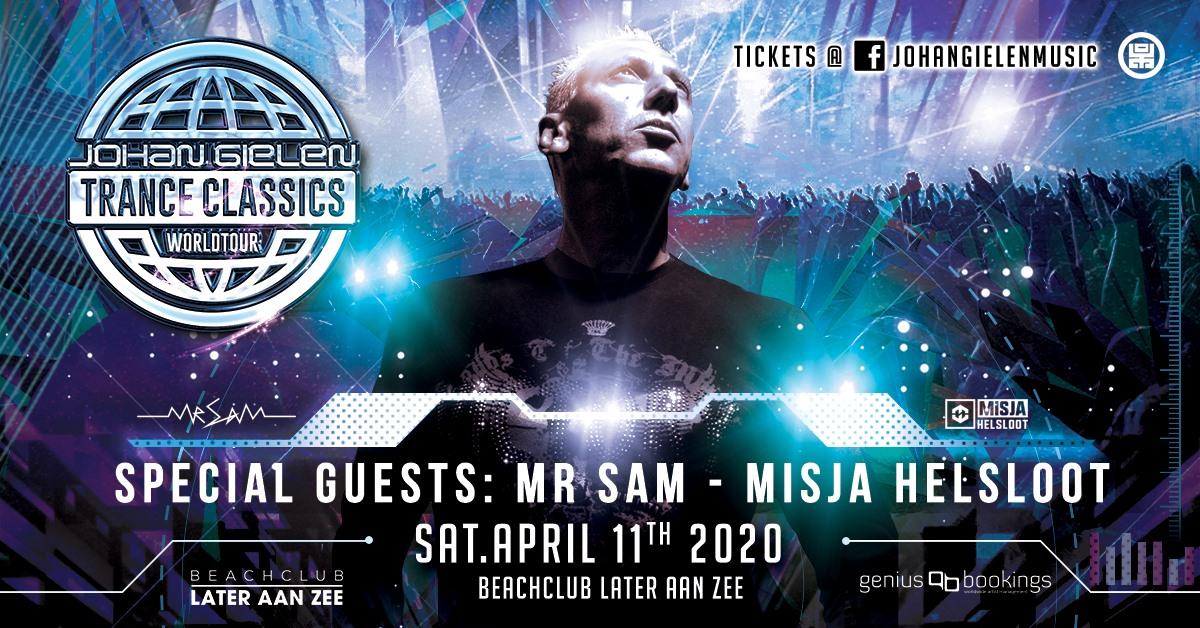 11.04.2020 Johan Gielen Trance Classics Worldtour