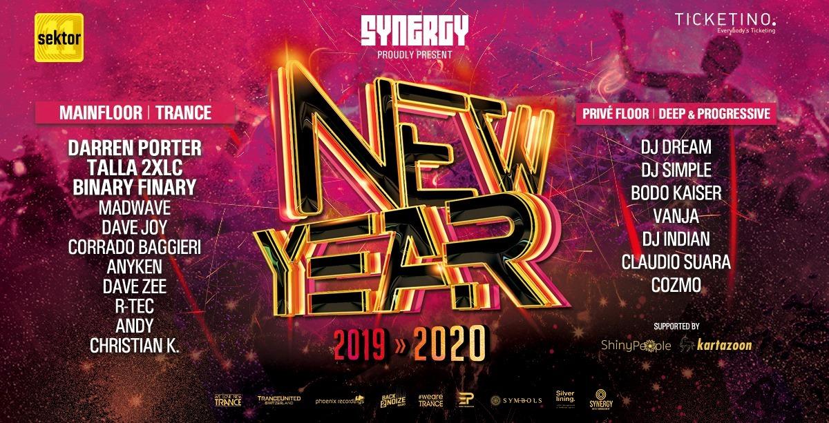 31.12.2019 SYNERGY New Year, Zurich (CH)