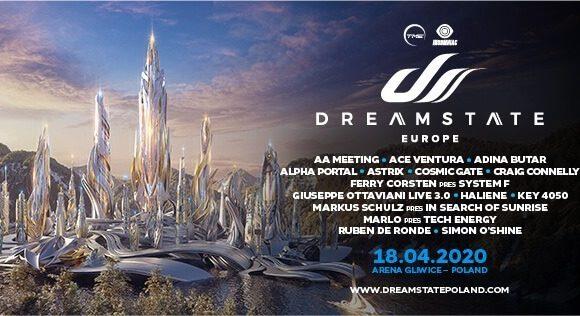 18.04.2020 Dreamstate Europe 2020, Gliwice (PL)