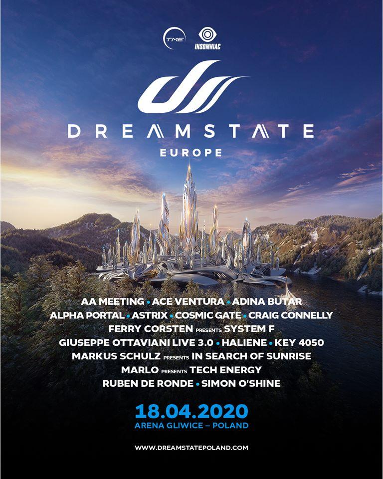 18.04.Dreamstate Europe 2020, Gliwice (PL)